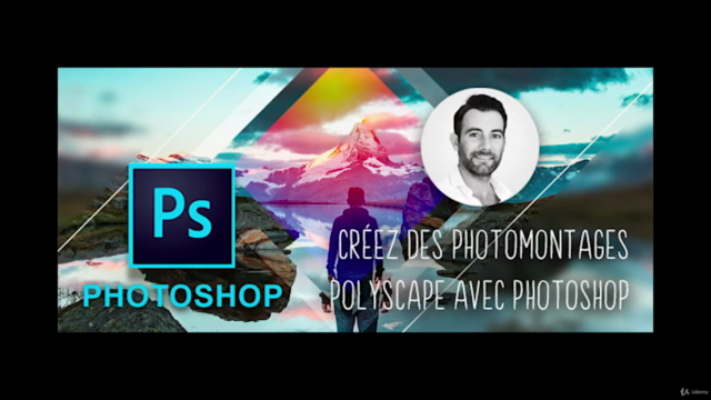Photoshop CC - Créer des Polyscapes - PhotoMontage