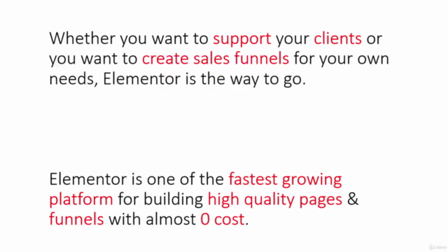 How To Start Building Pages & Funnels With Elementor