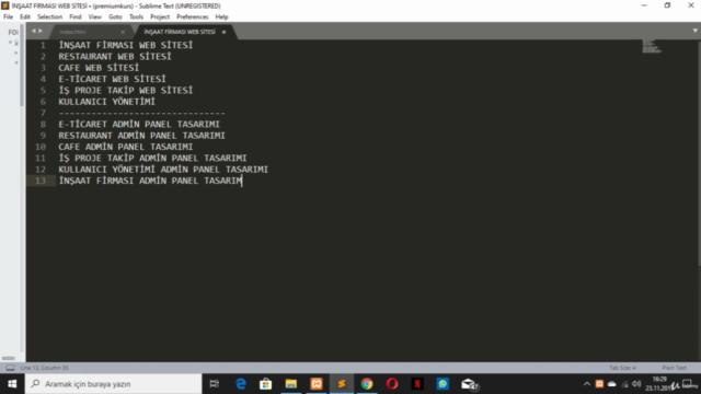 Sıfırdan HTML, HTML 5, Tüm Yönüyle HTML & HTML5 Öğrenin