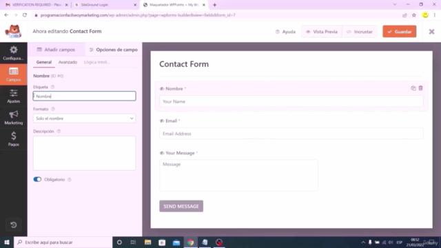 Curso WordPress 2021:  Cómo Crear una Página Web Desde Cero