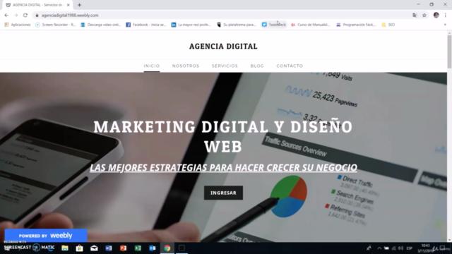 Curso Weebly 2021: Cómo Crear Una Página Web Desde Cero