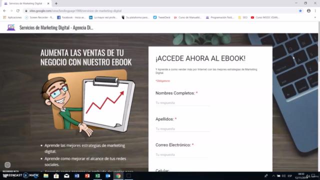 Cómo Crear una Landing Page con Google Sites Desde Cero 2021
