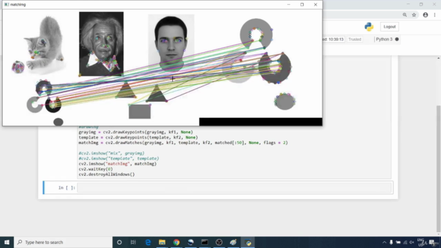 Hands on Computer Vision with OpenCV 4 & Python 3   Beginner