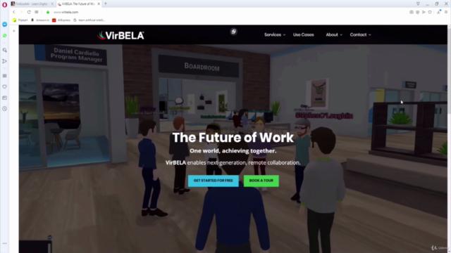 Exploring VirBELA 3D University Campus (2021 Edition)