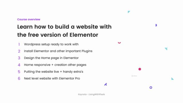 How to make a Portfolio Wordpress Website in Elementor 2020