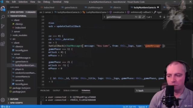 Socket.IO and TypeScript