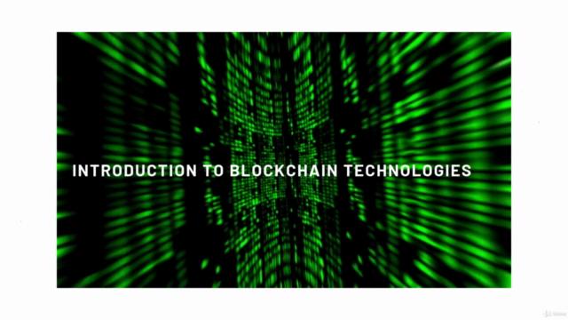 Blockchain Technologies 2021