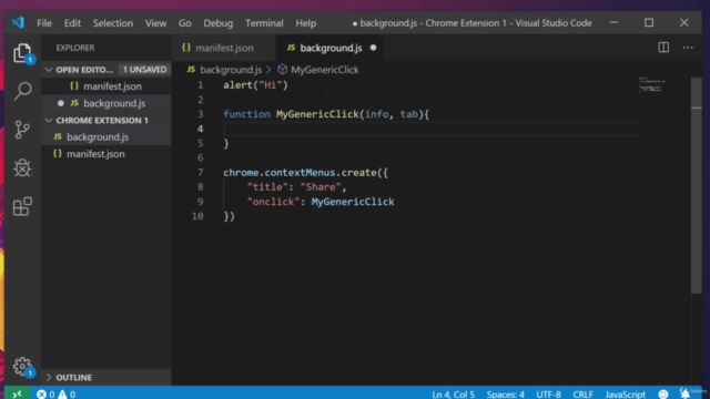 Start Coding Browser Extensions Using JavaScript!