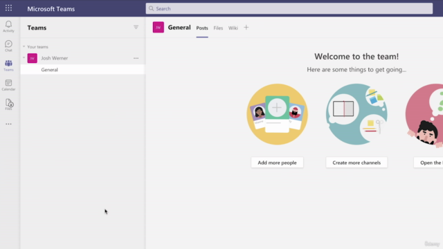 Learn Microsoft Teams