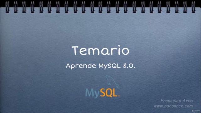 Introducción a MySQL 8.0
