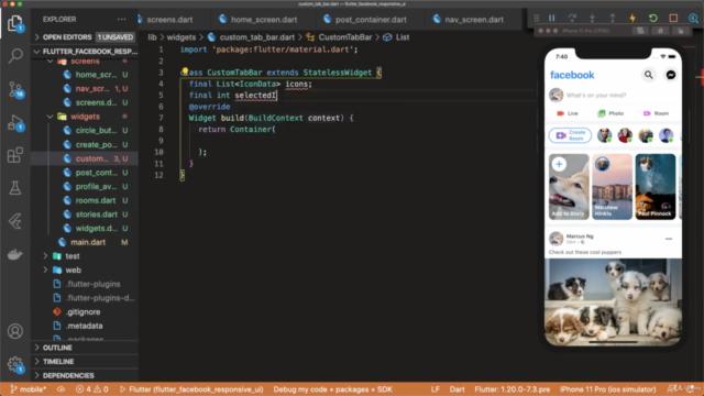 0'dan İleri Seviyeye Tam Paket Dart+Flutter+Firebase Eğitimi