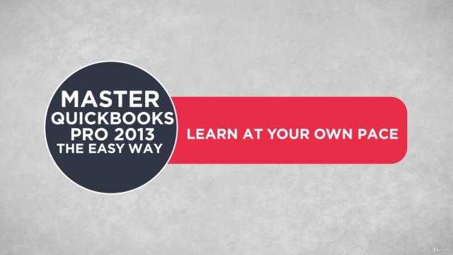 QuickBooks Pro 2013 Training the Easy Way