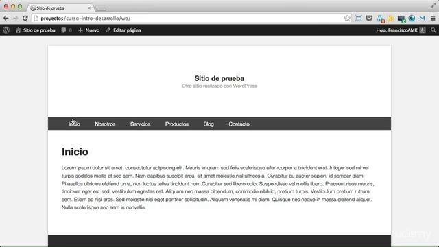 Introducción al desarrollo de temas WordPress