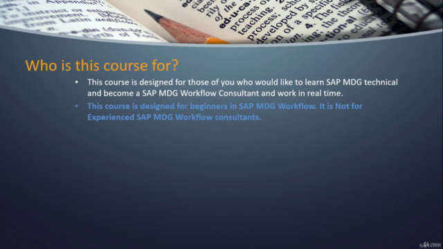 SAP MDG Workflows ( BRF+ Rule Based / Static ) with Hands-On