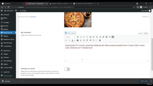 Crea Plugins avanzados con wordpress 2021