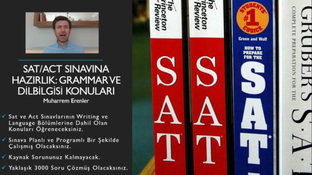 SAT/ACT Sınavına Hazırlık: Grammar ve Dilbilgisi Konuları