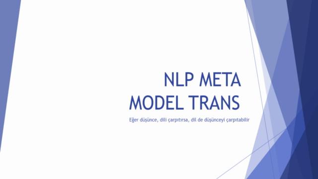 NLP Meta Model Trans ve İkna