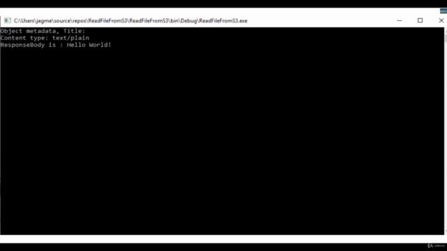 AWS S3 broswer and .Net C Sharp