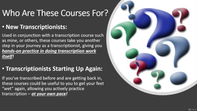 Hands-On Transcription Practice Series - Course C
