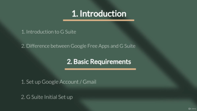 G Suite : Complete Course on G Suite and Google Drive