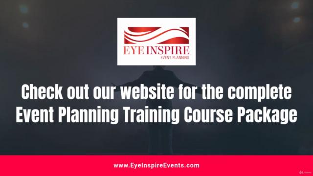 Event Planner: Training Series