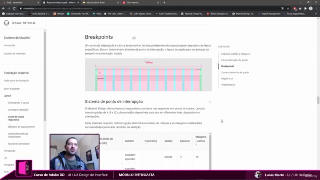 UI & UX DESIGN com Adobe XD 2021 - Sites e Aplicativos REAIS
