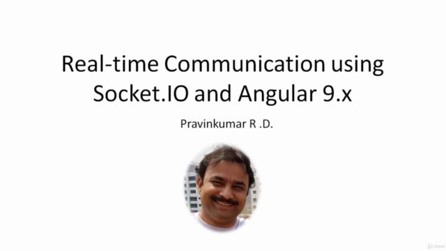 Real-time Communication using Socket.IO 3.x and Angular 11.x