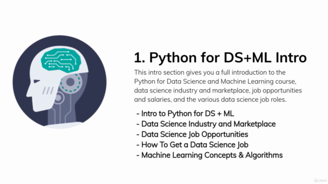 Python for Data Science & Machine Learning from A-Z