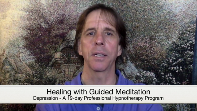Healing Depression, A 14-day Hypnotherapy Program