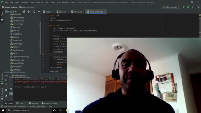 Introducción a la visión por computador con python y opencv