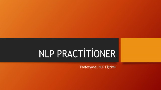 Profesyonel NLP Practitioner