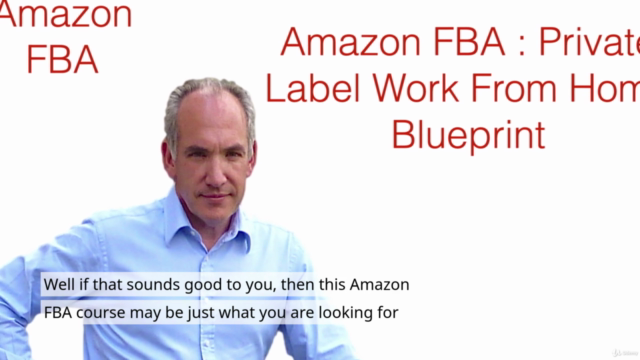 Amazon FBA Course: Private Label Work From Home Blueprint