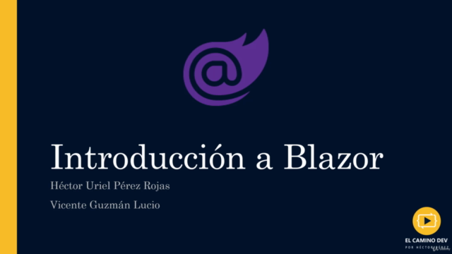Introducción a Blazor