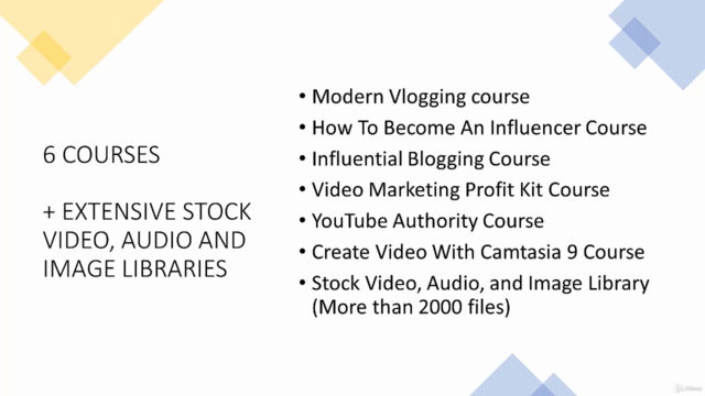 Vlogging: Complete Beginner to Advance Guide. 6 courses in 1