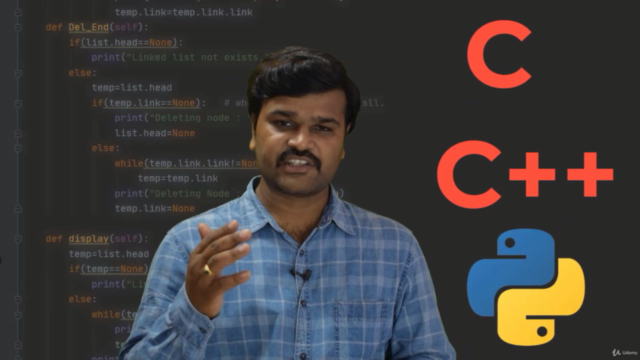 Complete Data Structures & Algorithms with C & Python - 2021