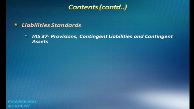 IFRS Financial Reporting (Conceptual)
