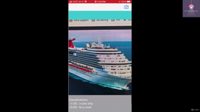Learn to build boat image classifier mobile app