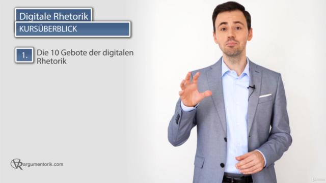 Digitale Rhetorik: online präsentieren und überzeugen!
