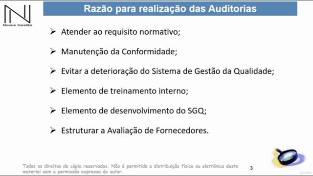 Formação de Auditores Internos e Segunda Parte ISO 9001:2015