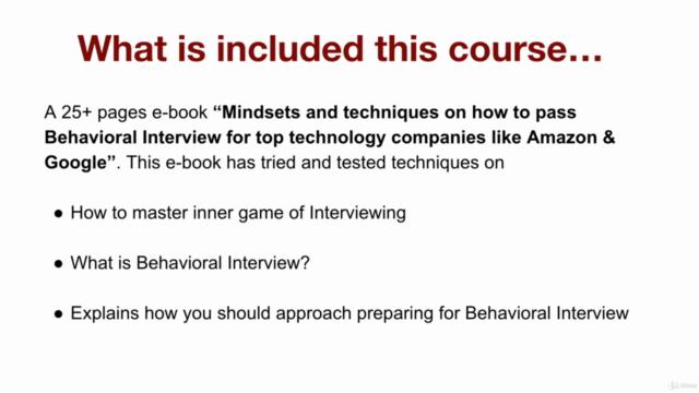 Behavioral Interview for tech companies like Amazon & Google