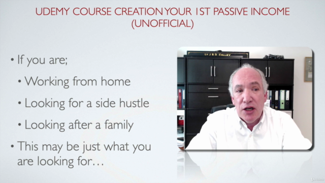 Udemy Course Creation Your 1st Passive Income (Unofficial)