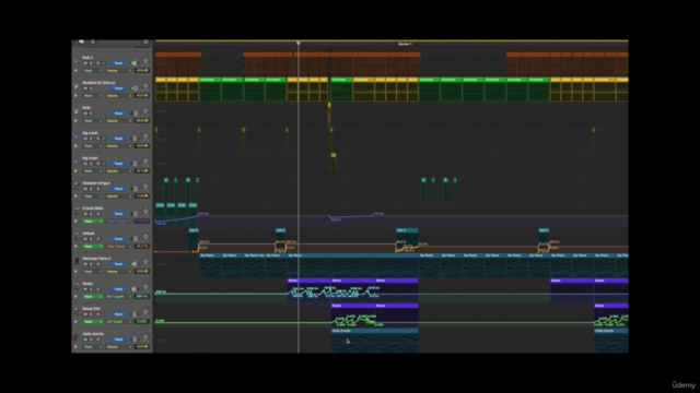Music Production in Logic Pro X Track from Scratch