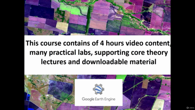 Google Earth Engine for Machine Learning & Change Detection