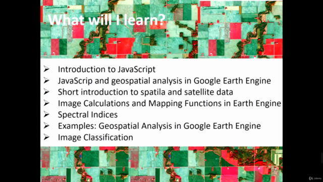 Google Earth Engine for Remote Sensing Analysis Masterclass
