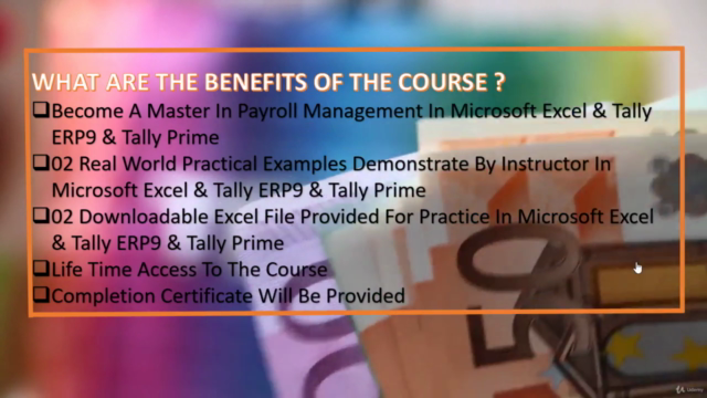 Complete Payroll Management in Excel &TALLY ERP9 &TallyPrime