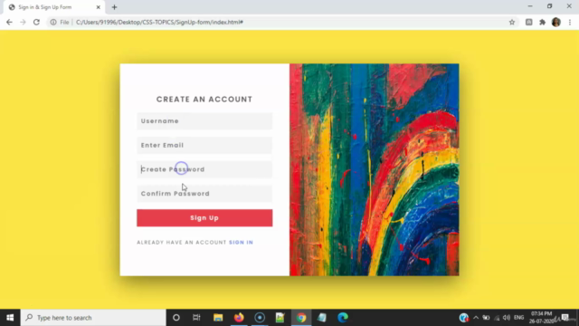 Beautiful Designs on SignUp , Contact , Login Forms