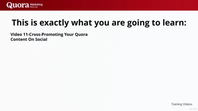Quora Marketing Made Easy. Beginner to Advanced.