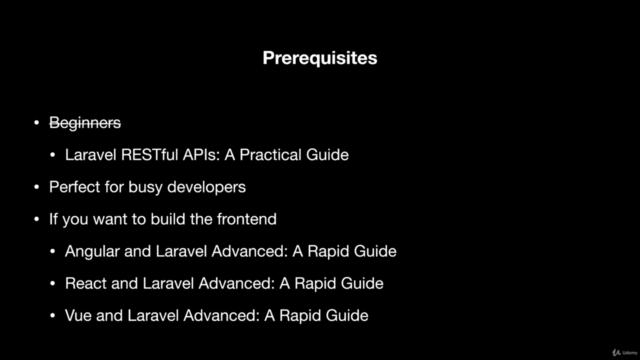 Laravel RESTful APIs Advanced: A Rapid Guide