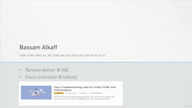 Cisco IPv6 TSHOOT Labs For CCNA, CCNP, and CCIE Students