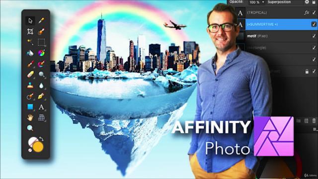 AFFINITY Photo   Intermédiaire - Outils + Ateliers Créatifs